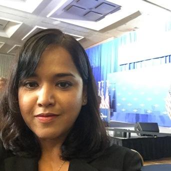 Ayesha at Vice President Biden's Cancer Moonshot Summit