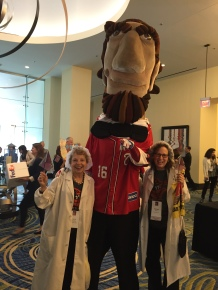 Sue and Sherri with Abe at the NBCC Lobby Day 2016